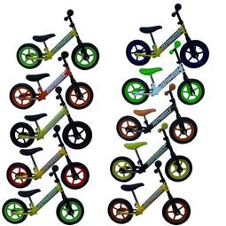 Bicicleta Fast Wheels Track Race Aro 12 Rígida 1 Marcha - Amarelo