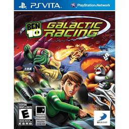 Jogo Ben 10 Galactic Racing - Ps Vita - D3publisher