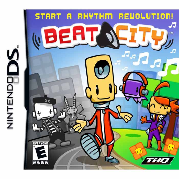 Jogo Beat City - Nds - Thq