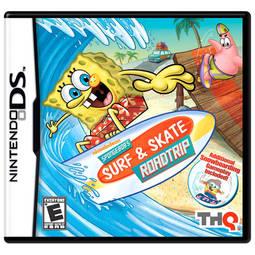 Jogo Spongebob's Surf Skate Roadtrip - Nds - Thq