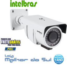 Câmera Intelbras Profissional Infravermelho Varifocal - Vp S640