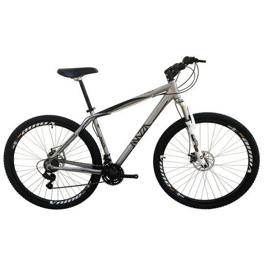 Bicicleta Mazza Fire 112 Disc H T19 Aro 26 Susp. Dianteira 30 Marchas - Cinza