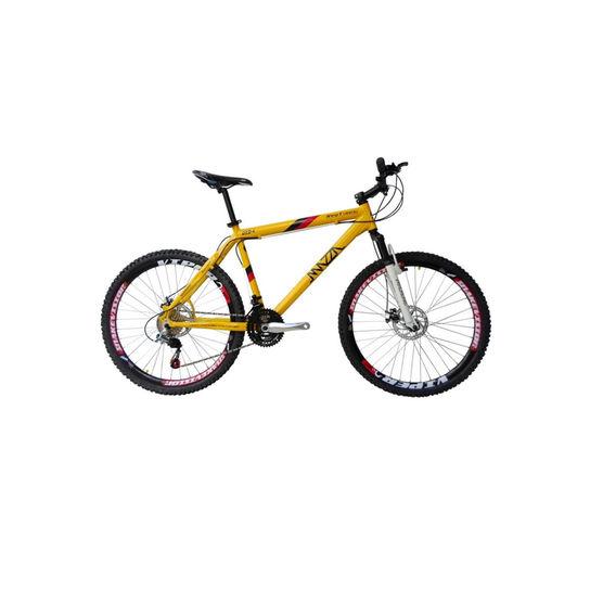 Bicicleta Mazza New Times Disc M T17 Aro 26 Susp. Dianteira 21 Marchas - Amarelo