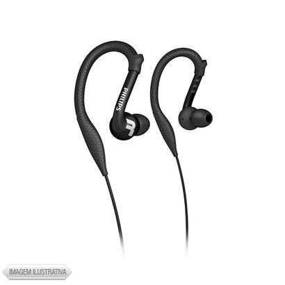 Fone de Ouvido Earphone Intra-auricular Preto Philips Shq3200bk28