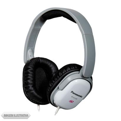 Fone de Ouvido Headphone Alto Desempenho Branco e Cinza Panasonic Rphc200