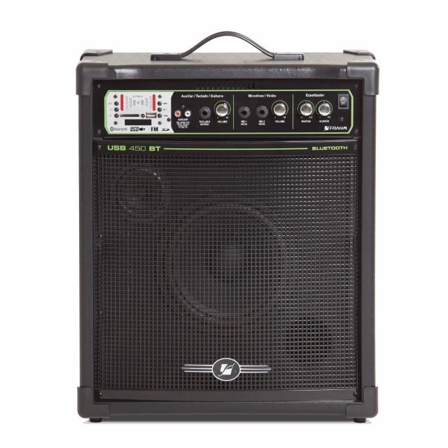 Caixa Acústica Frahm 60 W Rms Usb450