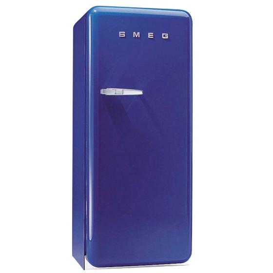 Geladeira/refrigerador 268 Litros 1 Portas Azul - Smeg - 110v - Fab28ublr