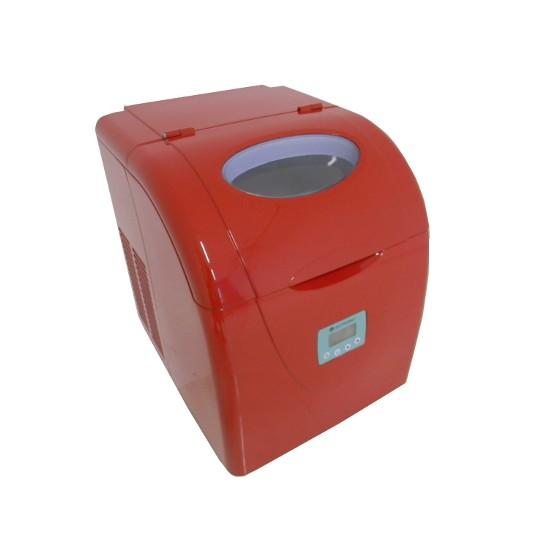 Máquina de Gelo Elettromec Ice Maker Vermelho Im15-20v 110v