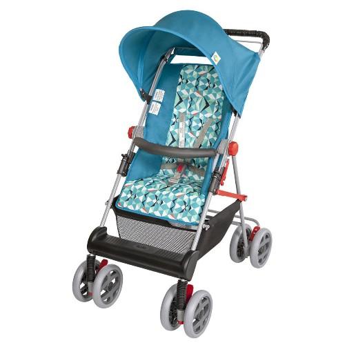 Carrinho de Bebe Tutti Baby Damiano Azul Turquesa