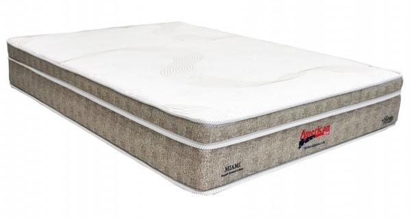Colchão American Sleep Miami 193x203x26cm Molas Pocket King Size