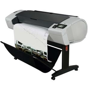 Plotter Hp Designjet T790 Cr648a Jato de Tinta Colorida Usb e Ethernet Bivolt