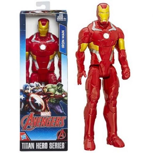 Boneco Avengers Homem de Ferro Articulado Hasbro