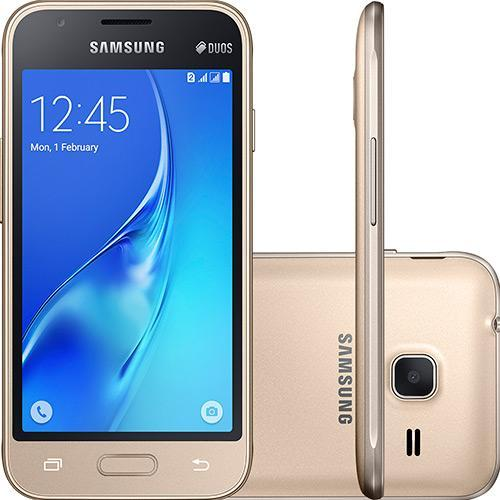 Celular Smartphone Samsung Galaxy J1 Duos J105b 8gb Branco Oi - Dual Chip