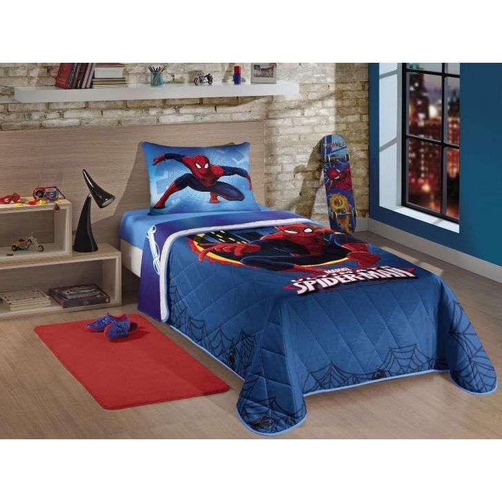 Jogos de Cama Ione Enxovais Infantil 3 Peças Homem Aranha