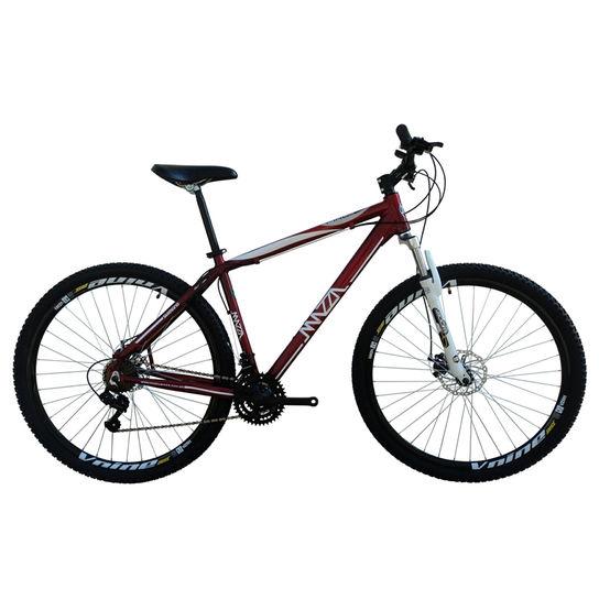 Bicicleta Mazza Fire 112 Disc M T19 Aro 26 Susp. Dianteira 24 Marchas - Vermelho