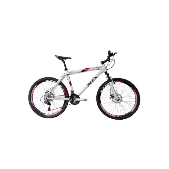 Bicicleta Mazza New Times Disc M T19 Aro 26 Susp. Dianteira 21 Marchas - Branco
