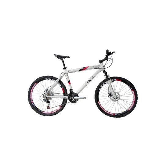 Bicicleta Mazza New Times Disc H T17 Aro 26 Susp. Dianteira 30 Marchas - Branco