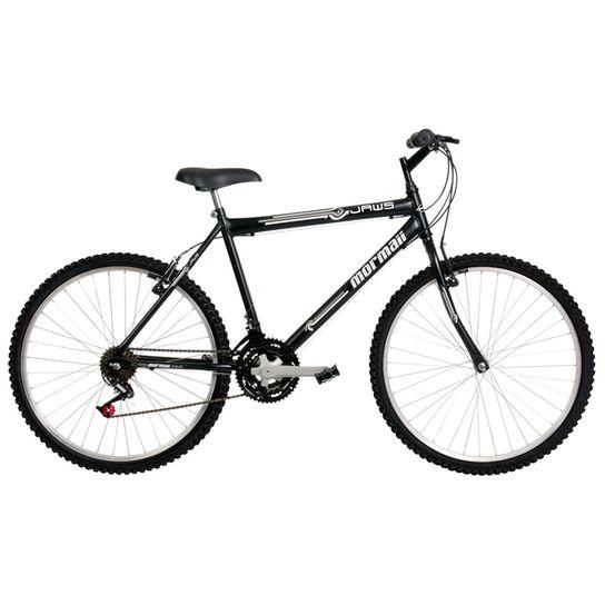 Bicicleta Mormaii Jaws Aro 26 Rígida 21 Marchas - Preto