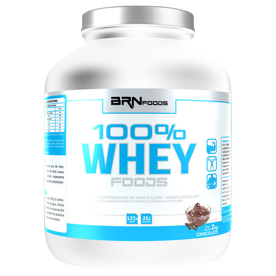100% Whey Foods 900g Br Nutrition Foods