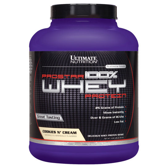 Prostar Whey 2,27kg Cookies Ultimate Nutrition