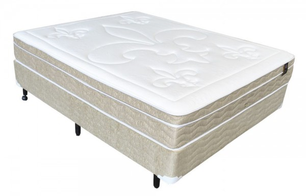 Cama Box King Koil Soft Látex 138x188x28cm