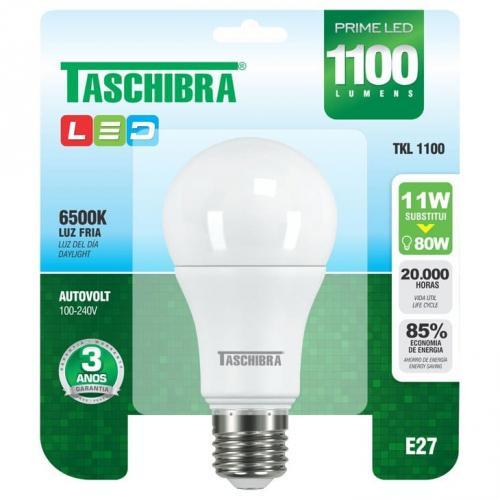 Lâmpada Taschibra Prime Led Tkl1100 11w 6500k Bivolt - 7897079065671