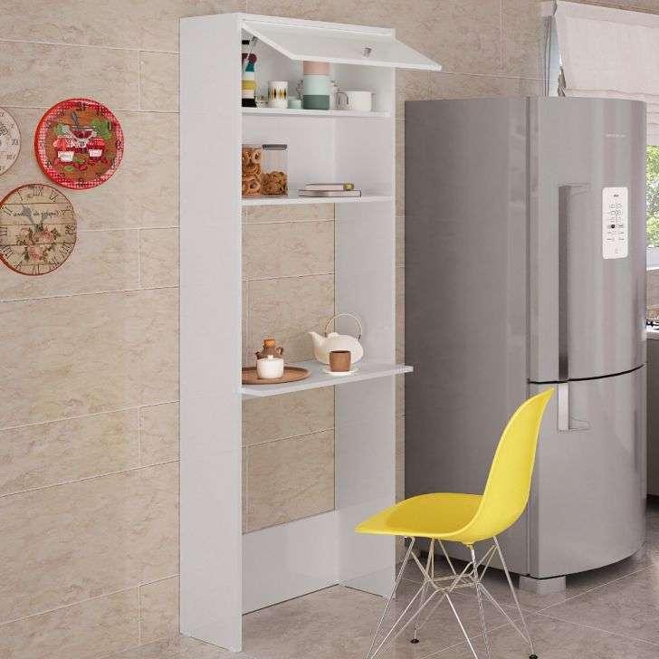 Armário para Cozinha Armário Com Bancada 1 Porta Casatema