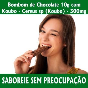Botânica Tupã Bombom de Chocolate C/ Koubo 60uni Laranja