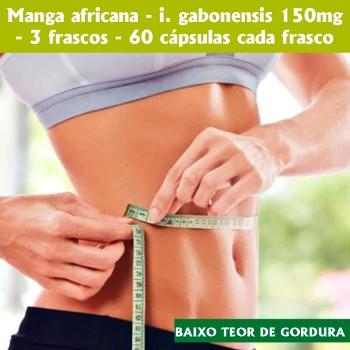 Botânica Tupã Manga Africana 3uni 150mg 60 Cápsulas