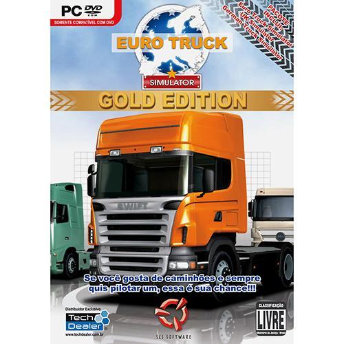 Jogo Euro Truck - Gold Edition Tech Dealer - Pc