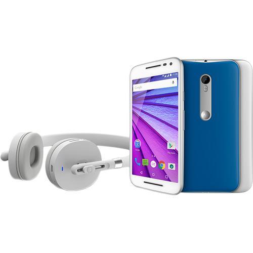Celular Smartphone Motorola Moto G 3ª Geração Especial Music Xt1543 16gb Branco - Dual Chip