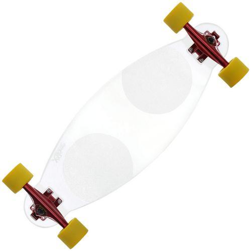 Skate Glass Amarelo Xseven Skates