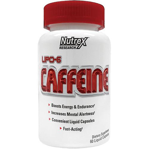 Nutrex Research Lipo-6 Caffeine 120 Cápsulas