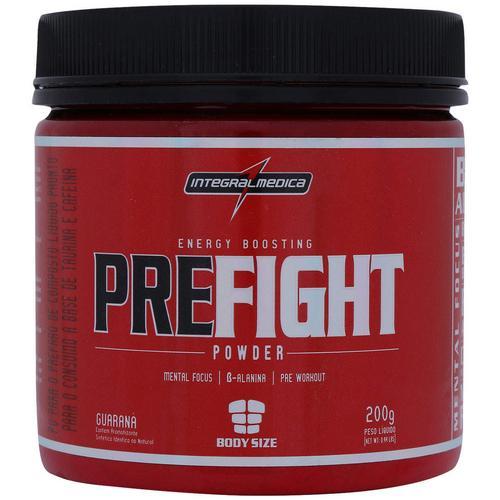 Pre Fight Powder 200g Guaraná Integralmedica