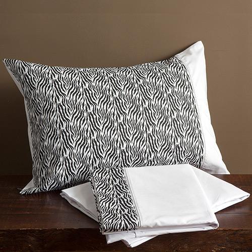Jogos de Cama Casa & Conforto King Size 4 Peças Zebra