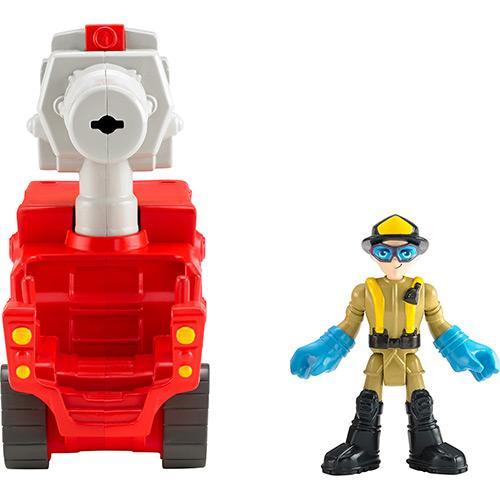 Boneco City Fireblaster Imaginext Mattel