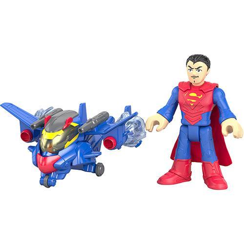 Boneco Imaginext Dc Sortimento de Batalha Superman Mattel