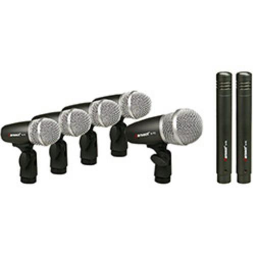 Kit Microfone Percurssão P/ Bateria K7c Karsect