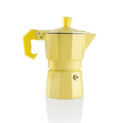 Cafeteira Italiana Brandani Aromatic Amarelo - 24139