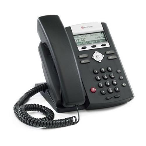 Telefone Com Fio Polycom Ip 331 Com Id Preto