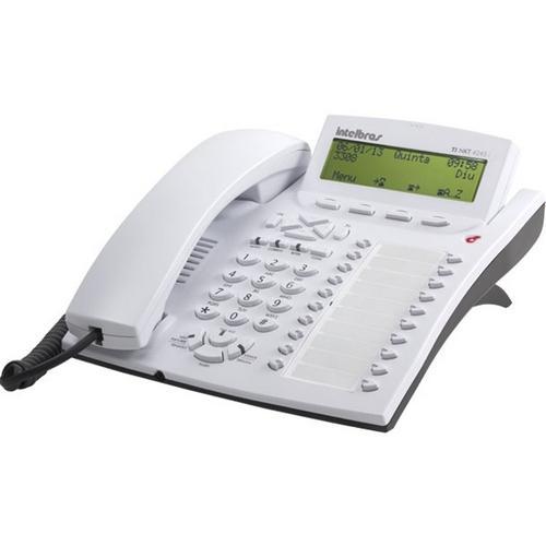 Telefone Com Fio Intelbras 4245i Com Id Branco