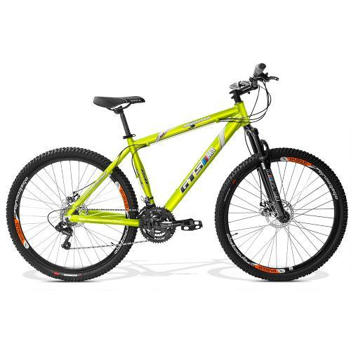 Bicicleta Gts M1 Obstáculo 2.0 T19 Aro 29 Susp. Dianteira 21 Marchas - Verde