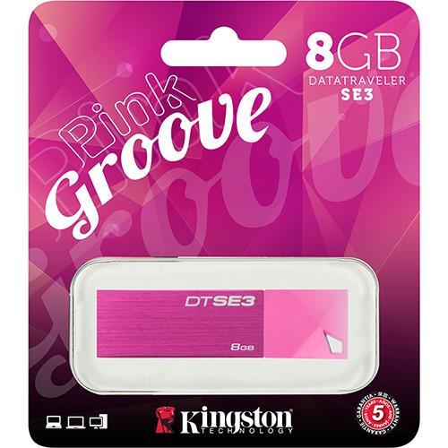Pen Drive Kingston Data Traveler Rosa 8gb - Dtse3