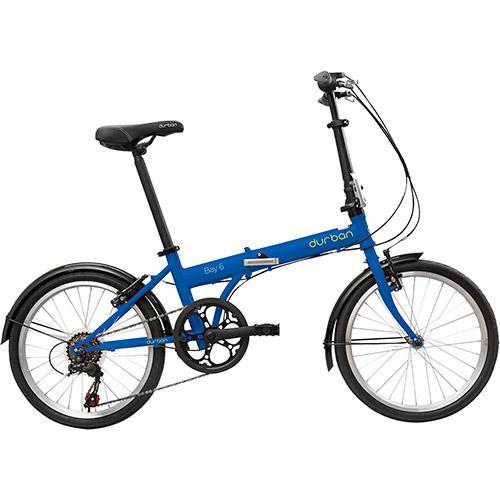 Bicicleta Durban Bike Bay 6 Aro 20 Rígida 6 Marchas - Azul