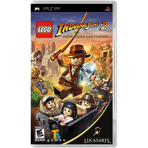 Jogo Lego Indiana Jones 2 - The Adventure Continues - Psp - Lucasarts