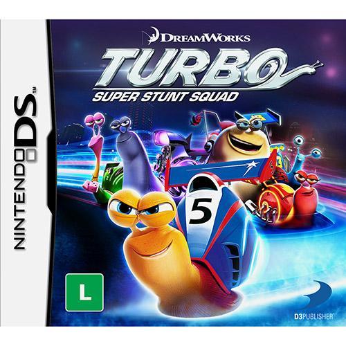 Jogo Turbo Super Stunt Squad - Nds - D3publisher