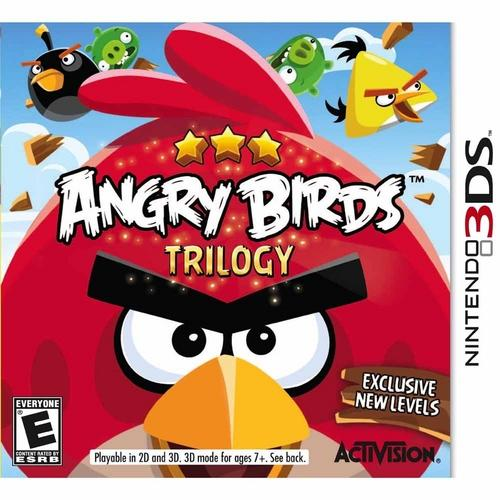 Jogo Angry Birds Trilogy - 3ds - Activision