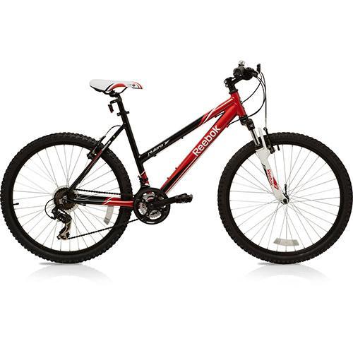 Bicicleta Reebok Riviera 17 Rc2-1f2170324 Aro 26 Susp. Dianteira 21 Marchas - Preto/vermelho