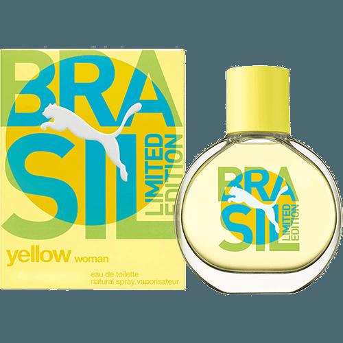 Perfume Yellow Limited Edition Brasil Puma Eau de Toilette Feminino 40 Ml