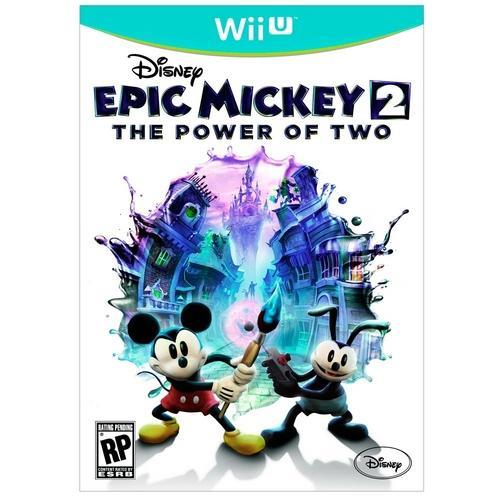 Jogo Disney Epic Mickey 2: The Power Of Two - Wii U - Disney Interactive
